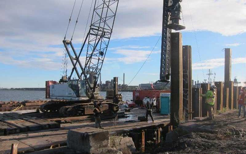 EllisDon West Wharf Pier Reconstruction