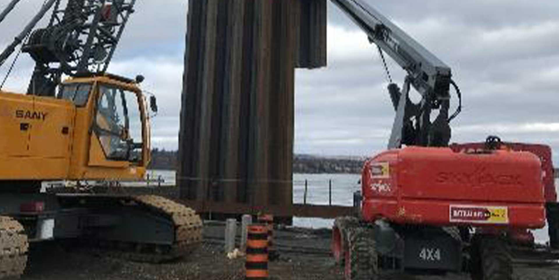 Hamilton Pier 8 Machinery